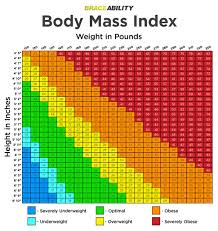 graphic of a mass index calculator