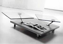 swivel coffee table
