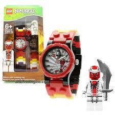 Lego Ninjago Series Watch with Minifigure Set #9004926 - SNAPPA Watch Plus  Snappa Minifigure with Sword (Water Resistant: 50m/165ft) | Lego ninjago,  Lego, Mini figures