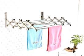 wall mount laundry rack pull down drying rack wall mounted fold down drying rack wall mounted