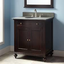 Dark Bathroom Cabinets 30 Keller Mahogany Vanity For Undermount Sink Dark Espresso