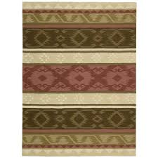 nourison india house espresso 8 ft x 11 ft area rug 221957 the home depot