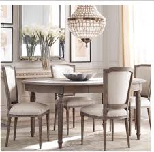 extendable dining table restoration hardware room ideas round tables