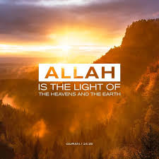 The Light And The Glass The Dispatchers Of Allah Allah Is The Light Of The Heavens