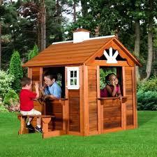 backyard wooden playhouse outdoor wooden playhouse outdoor wooden playhouse backyard discovery timberlake cedar wooden playhouse assembly
