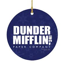 Image Farms Beets The Office Dunder Mifflin Ornament The Office Dunder Mifflin Ornament Nbc Store The Office Holiday Gift Guide Ornaments Worlds Best Boss Mug