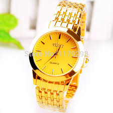 cheap solid 18k gold watch solid 18k gold watch deals on top brand yishi fake men 18k solid gold watch luxury business quartz wrist watch for boss