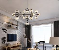 crystal chandelier lighting frame glass globe cafe lights fixture modern pendant lights for living room decor hanging pendant light modern pendants from