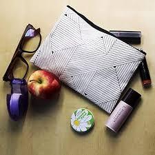 makeup organizer asaps cotton cloth zipper bag toiletry makeup cosmetic bag