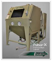 Clemco Industries Blast Cabinets Pulsar Ix P Pressure Cabinet Florida Silica Sand Company