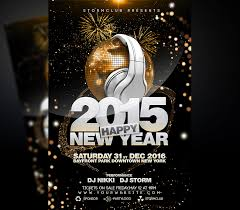 New Year Flyers Template New Year Disco Flyer Template