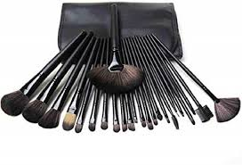 mac 24 piece cosmetic makeup brush set