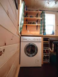 Small Picture Washer Dryer Combo Ynez Tiny House On Wheels By Oregon Cottage