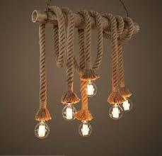 retro lighting pendants. New Design Retro Single Heads Rope Pendant Lights Loft Vintage Lamp Restaurant Bedroom Diningroom Hand Knitted Hemp Light Multi Lighting Pendants G