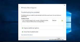 Solved: DNS Server not responding Error on Windows 10