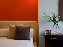 Orange Bedroom Furniture Best Colors For Master Bedrooms Hgtv
