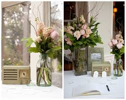 Rustic Vintage Wedding Decor Vintage Wedding Table Decorations Romantic Decoration