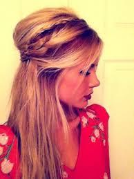 Photo Coiffure De Gala Cheveux Mi Long Coupe De Cheveux