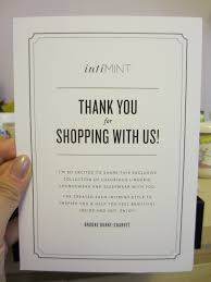 Thank You For Shopping With Us Note Barca Fontanacountryinn Com