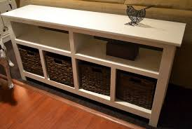 living room console table with storage. winsome morris console table with 3 foldable baskets living room storage