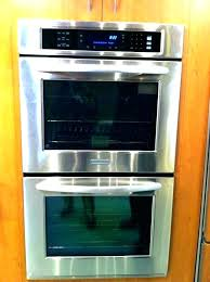double gas wall oven double wall oven gas inch gas wall oven stainless steel inch single double gas wall oven