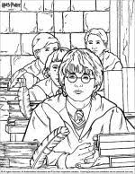 Beauty and the beast glass. Harry Potter Coloring Pages Coloring Library