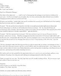 mortgage modification hardship letter hardship letter for mortgage letters sample loan