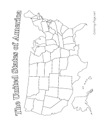 Small Picture United States Map Printable blk and white color in union