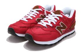 new balance shoes red. new balance 574 retro-running lifestyle men shoes red e