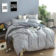 elegant noble fl 100 cotton geometry bedding sets full queen king size comforter sets dover covers bed sheets bedspreads pillow shams bedroom quilt
