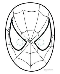 Spiderman Template Spiderman Face Mask Printable Beadtastic Club