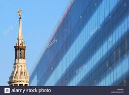 ultra modern architecture. Contemporary Modern The Ultramodern Architecture Of One New Change Building And The Old Spire  St MaryleBow In Cheapside London UK On Ultra Modern Architecture
