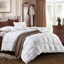 three geese queen size white goose down and feather comforter duvet insert all