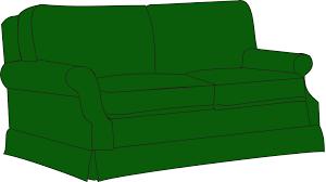 sofa clipart. green sofa couch clip art clipart