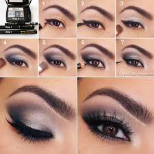 silver eye shadow