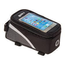 frame bag touch large smartphone holder 1 5 litres black 1