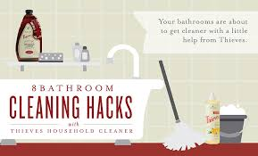 8 bathroom cleaning s with thieves household cleaner