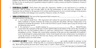 8 Free Lease Agreement Forms To Print Hostess Resume Within Free