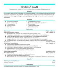 bookkeeper resume examples accounting finance resume examples livecareer bookkeeper resume examples