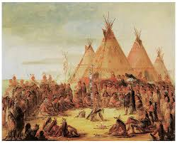 george catlin painting sioux war council by george catlin