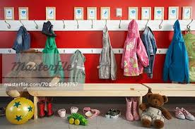 School Coat Rack Daycare Coat Rack Stock Photo Masterfile RightsManaged 20
