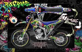 Yamaha Xtz 125 Decals Design
