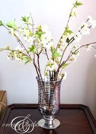 mercury glass vases vase gold carraway flower