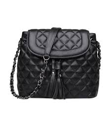 Cheap Quilted Leather Handbags, find Quilted Leather Handbags ... & Ainifeel Women's Bucket Handbags Quilted Genuine Leather Shoulder Handbags  Chain Strap Cross Body Handbags Purses Adamdwight.com