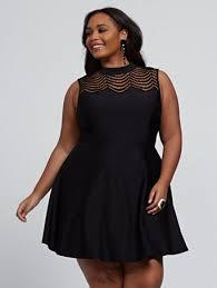 Tamia Sparkle Flare Dress Fashion To Figure