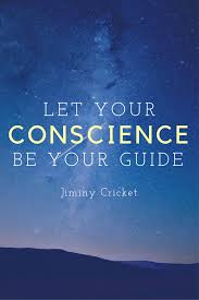 Small Picture Quote Let your conscience be your guideJiminy Cricket
