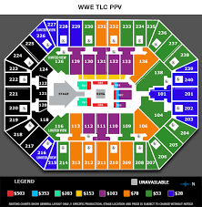 Wwe Seating Chart Xl Center Seating Charts Target Center