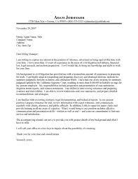 Sample Cover Letter Attorney Sample Legal Cover Letter Lawyer Resume