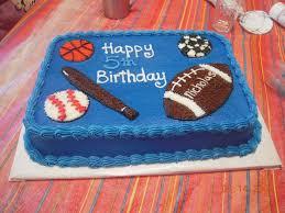birthday cakes for boys sports. Modren Boys All Sports Birthday Cakes Inside For Boys