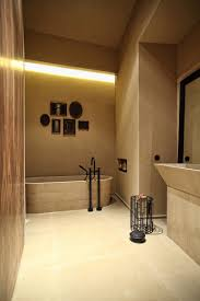 sagging tin ceiling tiles bathroom: awesome interior bathroom lighting romantic style with chic false ceiling and great oval bathtubs also wonderful